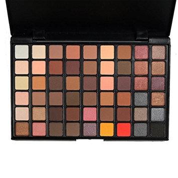 Eyeshadow Palette ,Fheaven 54 Colors Cosmetic Powder Eye Shadow Palette Makeup Natural Shimmer Matte Eye Shadow Palettes Set