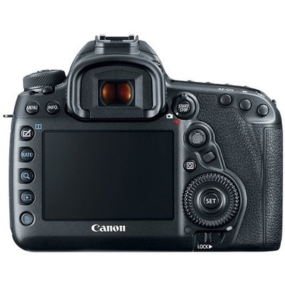 Canon EOS 5D Mark IV DSLR Camera + Tamron SP 15-30mm Di VC USD Zoom Lens Accessory Kit