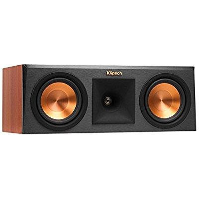 Klipsch RP-250C Reference Premiere Center Channel Speaker with Dual 5.25 inch Cerametallic Cone Woofers - Each (Cherry)