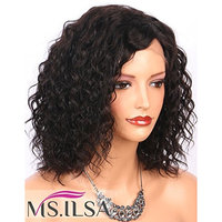 Short Curly Human Hair Wig with 3.5