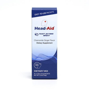 Merical, Inc. HeadAid Fast Acting Night - Chamomile Ginger