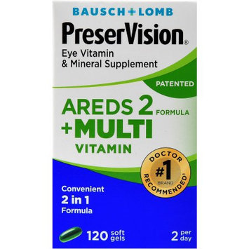 PreserVision Areds2 + Multivitamin