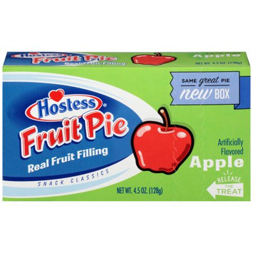 Hostess Fruit Pies Apple, 4.5 Oz each