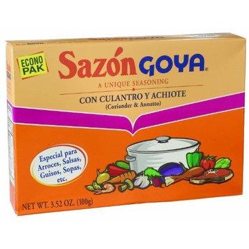 Sazon Goya Culantro and Achiote - Especial para sopas y arroces