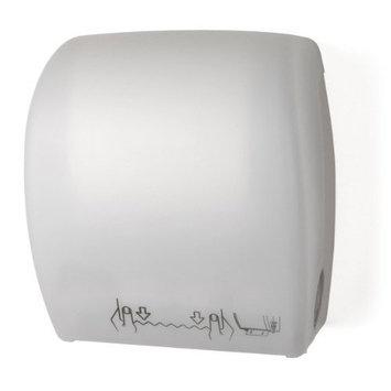 Mechanical Auto Cut Roll Towel Dispenser Color: White
