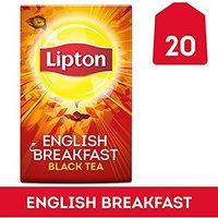 Lipton Black Tea Bags, Daring English Breakfast 20 ct (Pack of 2) by Lipton