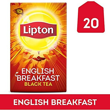 Lipton Black Tea Bags, Daring English Breakfast 20 ct (Pack of 2) by Lipton