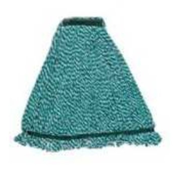 Rubbermaid Commercial Products RCP A852-06 GRE Webfoot Microfiber String Mop with 5 Inch Headband - Green