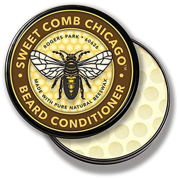 SWEET COMB CHICAGO Beeswax Beard Conditioner, 4 Ounce