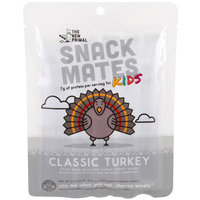 The New Primal, Snack Mates Kids, Classic Turkey, 5 Sticks, 0.5 oz Each [Flavor : Classic Turkey]
