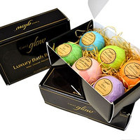 Bath Bombs – Gift set - For women, men and kids – Lush bath bombs – With surprise – Six unique luxury scents – made with our special mold – Relax, unwind and rejuvenate - with 30 day guarantee