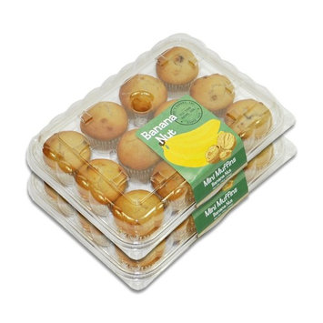 Mini Muffins - 2 Packages (Banana Nut)