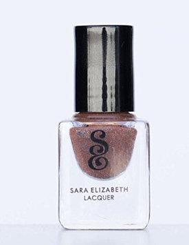 Sara Elizabeth Nail Laquer Polish Cocoa - Deep Brown Shimmer - Non Toxic Mini Bottle