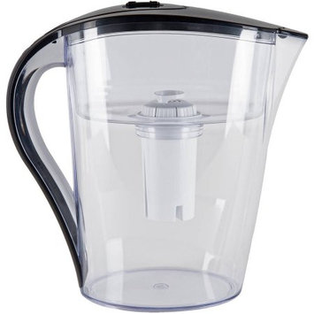Vitapur 10 Cup Water Filtration Pitcher, Clear