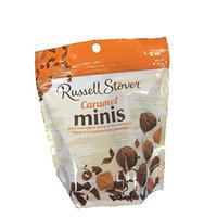 Russell Stover Caramel Minis 6 Ounce Bag