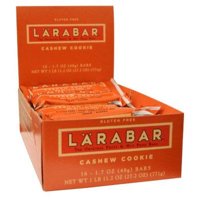 Larabar, Cashew Cookie, 16 Bars, 1.7 oz (48 g) Each(pack of 4)