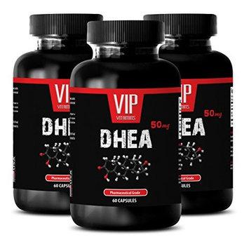 Bone health - DHEA 50 mg - Bone strength supplements - 3 Bottles 180 Capsules