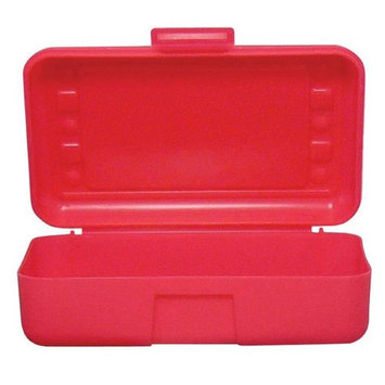 Romanoff Products, Inc. Romanoff Products ROM60202BN 8.5 x 5.5 x 2.5 in. Pencil Box Red - 12 Each