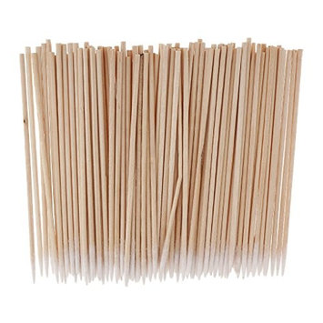 MonkeyJack 100pcs/set Microblading Tattoo Supply Cotton Swabs Pointed Q-Tips Makeup Cosmetic Applicator 10cm