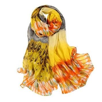 Datework Women Long Soft Wrap Shawl Voile Scarf