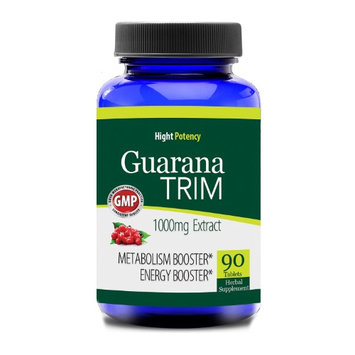 Totally Products Guarana 1000-milligrams Trim Energizer (90 Capsules)