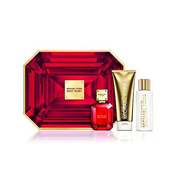 MICHAEL KORS SEXY RUBY EDP Women 3 Gift Set