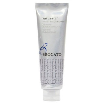 Brocato Saturate Daily Hair Conditioner: Intensive Moisture Hydrating Conditioner with Fortifying Keratin and Moisturizing Aloe for Dry, Damaged Hair - Contains No Sulfate or Parabens - 5.25 Oz