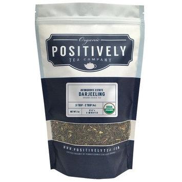 Organic Avongrove Estate Darjeeling Tea, Loose Leaf Black Tea, Bulk 1 Pound Bag, Positively Tea LLC. (1 Lb.)