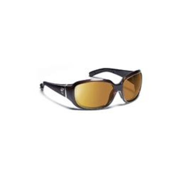 7 Eye Mistral- Crystal Chocolate Sunglasses, S-M