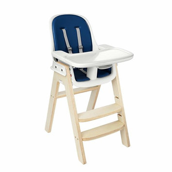 OXO Tot Sprout Chair with Tray Cover, Navy and Birch [1]