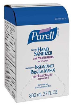 Purell Instant Hand Sanitizer, Unscented, Clear, 800 ml Refill