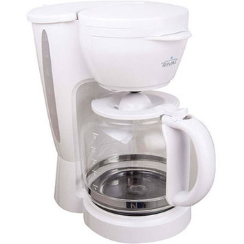 Rival 12-Cup Coffee Maker, CM4306, White