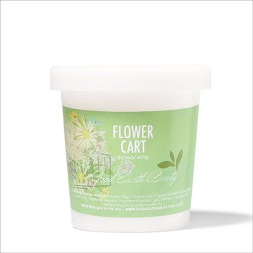Good Earth Beauty Body Scrub - Exfoliating Shower Whip & Scrub Flower Cart