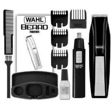 Wahl Wireless Men's Hair and Beard Trimmer Plus Bonus Ear/Nose Trimmer