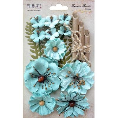 49 & Market 49BB-86165 Blossom Blends Sea Breeze - Pack of 13