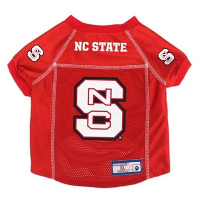NCAA Little Earth Pet Football Jersey - NC State Wolfpack