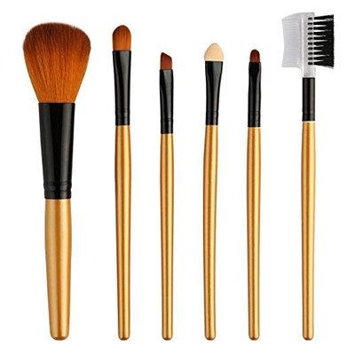 AFfeco 6pcs Makeup Brushes Kit Set Eye Shadow Foundation Powder Cosmetic Tools