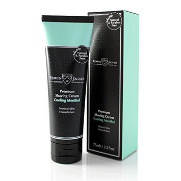 Edwin Jagger Cooling Menthol Natural Premium Shaving Cream in Tube