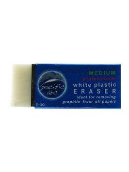 Pacific Arc White Vinyl Eraser each