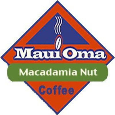 Hawaiian Maui Oma Coffee 5 Bags 1 Lb. Each Ground Macadamia Nut