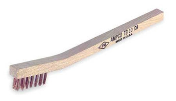 AMPCO TB-10 Nonsparking Wire Brush,3x7, Phsphrs Brnz