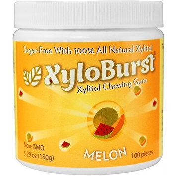 XyloBurst Gum Jar Melon 100 count (5.29oz)