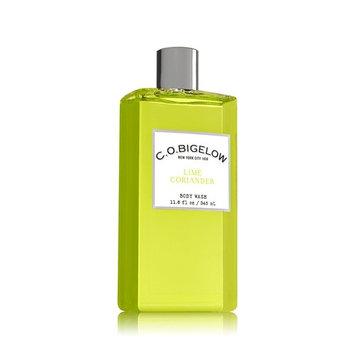 C.O. Bigelow Bath and Body Works Lime Coriander Body Wash 11.6 Ounce Shower Gel