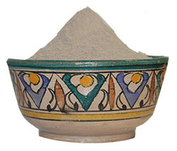 Zakia's Morocco Zakias Morocco Mas-100C Atlas Mountain Lava Clay Mask Powder