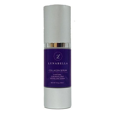 Luna Bella Collagen Serum-Premium Anti-Aging Skincare with Argireline Designed to Reduce Wrinkles, Hyper-pigmentation, Bags, and Dry Skin