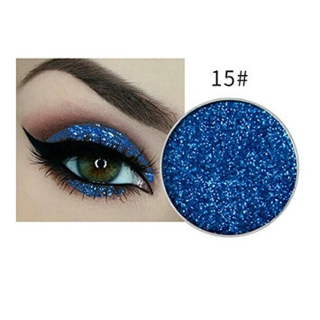 Jinjin Shimmer Glitter Eyeshadow Powder Palette Cosmetic Eye Shadow Palette Highly Pigmented Makeup Eyeshadow