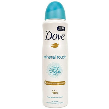 (3 PACK) DOVE Dry Spray Antiperspirant 48 hours, (Mineral Touch) 5oz : Beauty