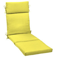 Arden Companies Better Homes and Gardens Outdoor Patio Chaise Cushion, Yellow Texture