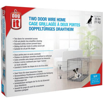 Dogit Two Door Wire Home, Small