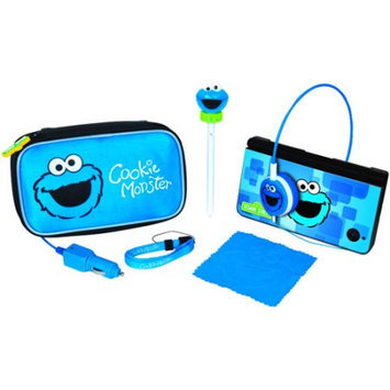 Creative Mind DGDSI2705 Cookie Monster Travel Kit 7 In 1 For Dsi Xl Dsi amp; Ds Lite
